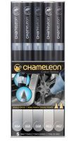 Chameleon Color Tones 5 Pen Grey Tones Set