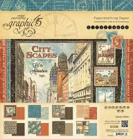 Graphic 45 Cityscapes 12x12 Pad