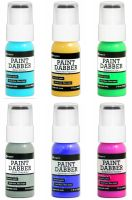 Ranger Paint Dabbers Bundle - 2016 Colors (Blue Yonder, Buttered Popcorn, Cool Graphite, Emerald Isle, Lavender Field, Raspberry Sorbet)