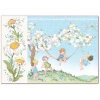Stamperia Decoupage Rice Paper 48x33 Baby Boy