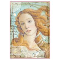 Stamperia A4 Decoupage Rice Paper Packed Botticelli