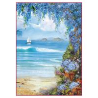 Stamperia A4 Decoupage Rice Paper Packed Seaside