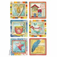 Stamperia A4 Decoupage Rice Paper packed Patchwork cards