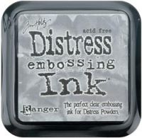 Clear For Embossing - Tim Holtz Distress Ink Pad by Ranger
