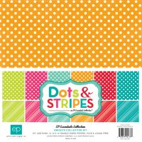 Echo Park Brights Dots & Stripes Brights 12x12 Collection Kit