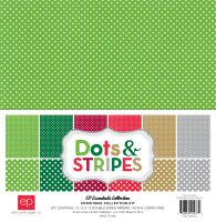Echo Park Christmas Dots & Stripes 12x12 Kit