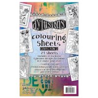 Ranger Dylusions Colouring Sheets #2