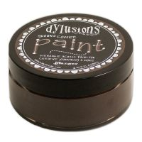 Ranger Dyan Reaveley's Dylusions Paint 2oz - Ground Coffee
