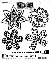 Ranger Dyan Reaveley's Dylusions Stamp Collection - Doodle Blooms
