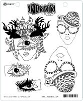 Ranger Dyan Reaveley's Dylusions Stamp Collection - The Eyes Have It