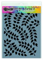 Ranger Dyan Reaveley's Dylusions Stencils - Fronds Of Foliage - Large