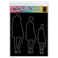 Ranger Dylusions Stencil Silhouettes - Jay