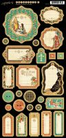 Graphic 45 Enchanted Forest Journaling Chipboard