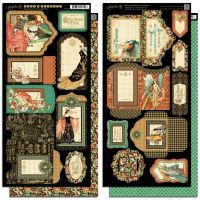 Graphic 45 Enchanted Forest Tags & Pockets