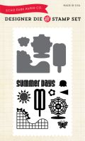 Echo Park Summer Days - Summer (Stamp/Die Combo)