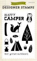 Echo Park Happy Camper - Summer (4x6 Stamp)