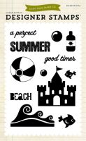 Echo Park Perfect Summer - Summer (4x6 Stamp)