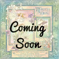 Fairie Dust coordinating Card Stock selected by FotoBella (12 sheets)