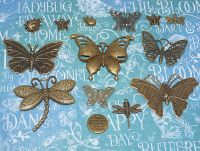 Vintage Charms hand selected by FotoBella for Graphic 45 Flutter