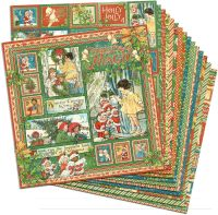 Graphic 45 Christmas Magic 12x12 Paper Pack (16 sheets)