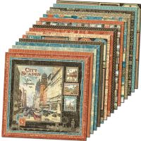 Graphic 45 Cityscapes 12x12 Paper Pack (16 sheets)