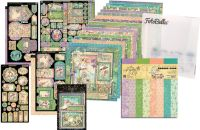 Graphic 45 Fairie Dust 12x12 I Want It All Bundle (does not include 8x8)