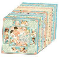 Graphic 45 Precious Memories 12x12 Paper Pack (16 sheets)