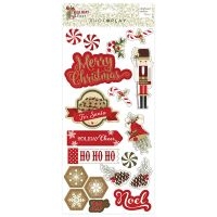 PhotoPlay Holiday Cheer Chipboard