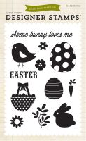 Echo Park Happy Easter Some Bunny Loves Me 4x6 Stamp