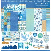 PhotoPlay Happy Hanukkah 12x12 Collection Pack