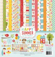 Echo Park Happy Summer 12x12 Collection Kit
