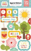 Echo Park Happy Summer Layered Stickers
