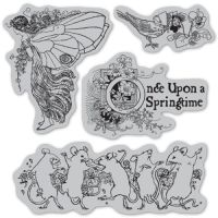 Graphic 45 Once Upon A Springtime Cling Stamps 1