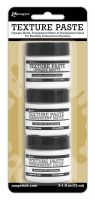 Ranger Texture Paste 3 Pack (Includes 1oz. Each of Texture Paste, Transparent Matte & Tansparent Gloss)