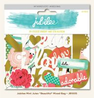 My Minds Eye Jubilee - Mint Julep - Beautiful Mixed Bag