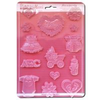 Stamperia Soft maxi Mould  - Baby classic