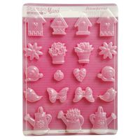 Stamperia Soft maxi Mould  - Spring Garden