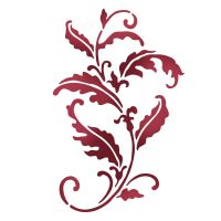 Stamperia Stencil G cm. 21x29.7 Old Lace Leaves (Svirgolo)