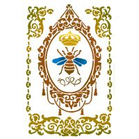 Stamperia Stencil G cm. 21x29.7 Queen bee
