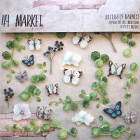 49 and Market Butterfly Harvest Layered Embellishments