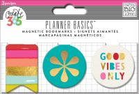 Me & My Big Ideas Create 365 The Happy Planner Magnetic Clips - Bright Heart