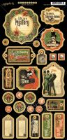 Graphic 45 Master Detective Chipboard
