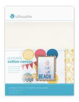 Silhouette America Printable Canvas Sheets