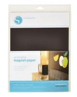 Silhouette America Silhouette Printable Magnet Paper - 8 1/2