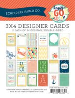 Echo Park 3x4 Happy-Go-Lucky Cards