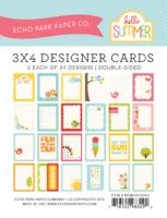 Echo Park 3x4 Hello Summer Cards