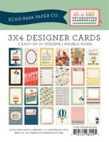 Echo Park 3x4 Celebration Cards