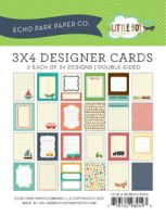 Echo Park 3x4 Little Boy Cards