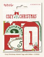 My Minds Eye Cozy Christmas Advent Tags