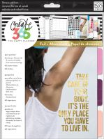 Me & My Big Ideas Create 365 The Happy Planner Fitness Edition Extension (Classic)